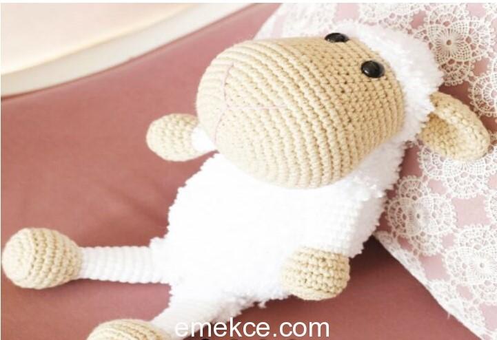 Amigurumi kuzu 1 Amigurumi sheep 1 | Amigurumi modelleri, Oyuncak ... | 494x721