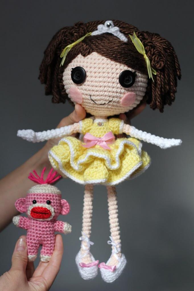 Amigurumi Lala Loopsy ♡♡♡♡♡   Crochê halloween, Boneca de ...   1024x682