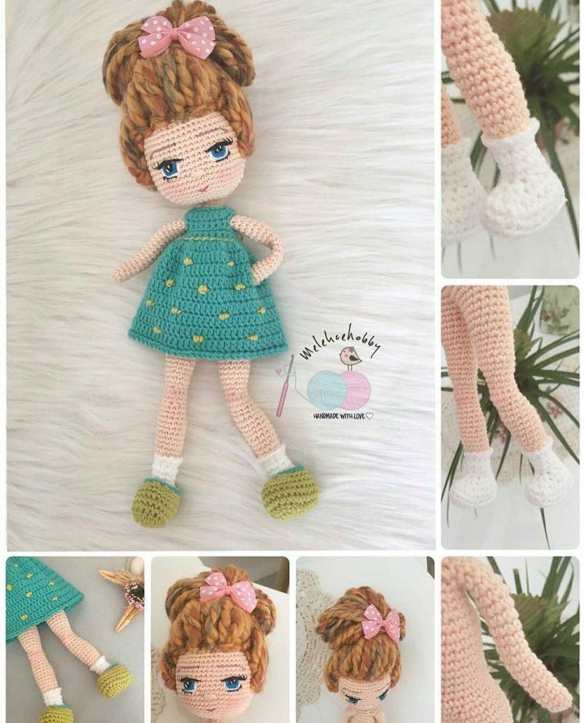 Ravelry: Amigurumi Bebek Elbisesi Yapımı pattern by elif baş | 1024x830