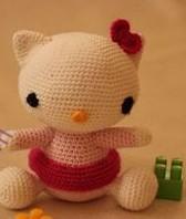 Amigurumi Hello Kitty Tarifi - Amigurumi Oyuncak Tarifleri | Hello ... | 198x168
